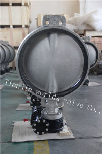 CF8m Stainless Steel Wafer Butterfly Valve with Ce ISO Wras Approved (CBF01-TA01) pictures & photos