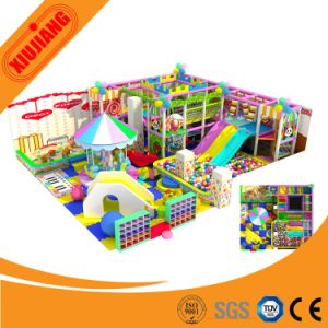 Used Sale Indoor Wooden Kids Games Plastic Playground Equipment pictures & photos