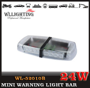Blue LED Mini Lightbars with Magnets & Brackets Mount pictures & photos