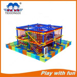 Indoor High Ropes Course, Children Develop Equipment pictures & photos