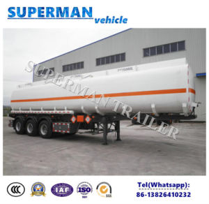 50000L 3 Axle Oil Tanker/ Fuel Semi Trailer Hot Sale pictures & photos