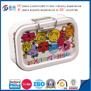 Rectangle Tin Box with Rubber Ring Round pictures & photos