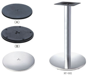 201 and 304 Stainless Steel Outdoor Table Base (TB-134) pictures & photos