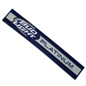 Embossed Logo Soft Promotion PVC Bar Mat pictures & photos