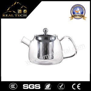 Clear Glass Teapot with Handle 800ml