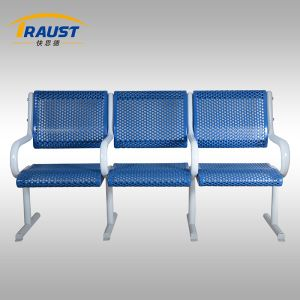 Three Seat Metal Bench for Garden pictures & photos