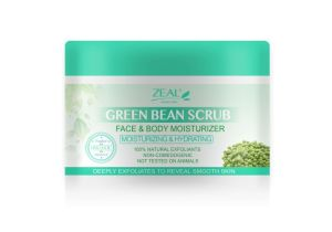 Zeal Skin Care Green Bean Moisturizing Face & Body Exfoliating Scrub 283ml pictures & photos