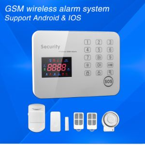 Intelligent Anti-Theft Touch GSM Wireless Home Security Alarm System pictures & photos