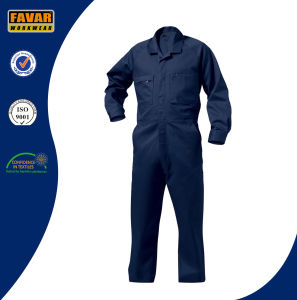 Industrial Durable Safety 100% Cotton Coverall pictures & photos