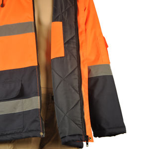 Winter High Vis Themal Waterproof Jacket pictures & photos