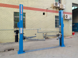 Twin Hydraulic 2 Post Lift with Ce Certification pictures & photos