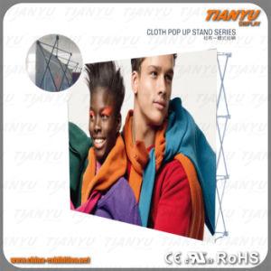 Custom Design Aluminum Backdrop Tension Fabric Velcro Pop up pictures & photos