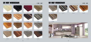 Zh Moisture-Proof Acrylic MDF for Kitchen Shutters (DM9604) pictures & photos