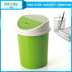 Originality Clamshell Small Plastic Waste Bin pictures & photos