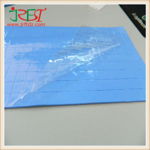 Blue Thermal Conductivity Adhesive Silicone Pad for Solar Water Heater pictures & photos