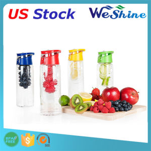 Sport Water Bottle with Fruit Infuser