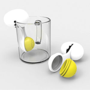 Hot Sell Special Egg Shape Eco-Friendly Silicone Tea Infuser pictures & photos