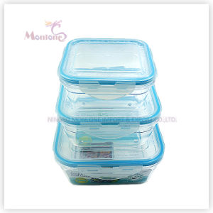 Food Grade Plastic Airtight Food Storage Container (set) pictures & photos