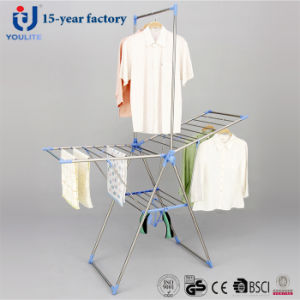 Stainless Steel Foldable Multi-Purpose Coat Drying Rack pictures & photos