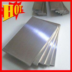 OEM Stock Sale High Purity Tungsten Plate & Sheet pictures & photos
