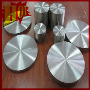 99.99% High Purity Titanium Round Target for Electroplating pictures & photos