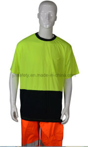 Reflective Round Neck Safety T Shirt pictures & photos