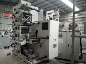 Flexographic Printing Machine Zb- 5 Colour pictures & photos