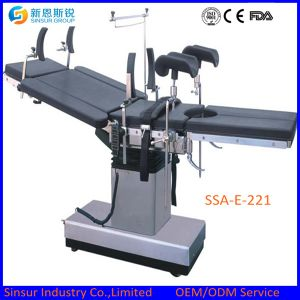 Hospital Equipment Electric Hydraulic Ot Patient Surgery Multi-Purpose Operating Tables pictures & photos