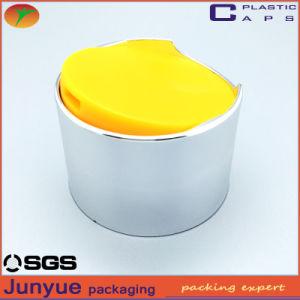 Electroplate Shampoo Plastic Bottle Lid 24/410 Double Disc Top Caps pictures & photos