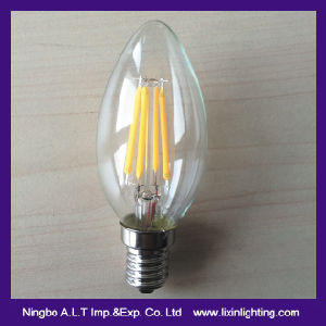 C35 LED Filament Bulb in candle Design pictures & photos