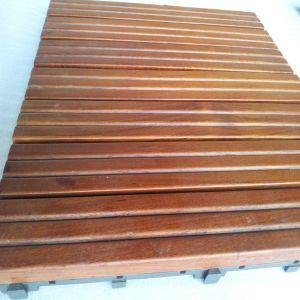 Top Quality Outdoor Usage Teak Hardwood Decking Tile pictures & photos