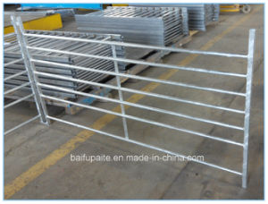 Hot Dipped Galvanised Wrought Iron Sheep Fence Panel pictures & photos