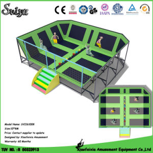 Customized Made Trampoline Indoor Trampoline Park (sv4528) pictures & photos
