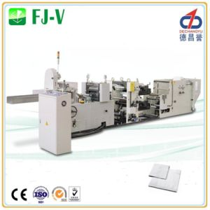 Fj-V Two Color High Accuracy Napkin Making Machine pictures & photos