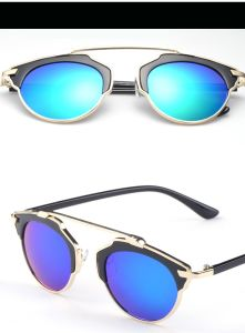 Hot Sales UV 400 Protection Round Fashion Sunglasses Glasse pictures & photos