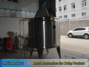 1000liter Dairy Milk Pasteurization Equipment Milk Batch Pasteurizer pictures & photos