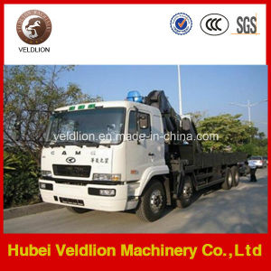 Camc 8X4 Knukled Boom 10-16ton Truck with Crane pictures & photos