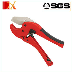 V Blade Type Ratcheting Plastic PVC Pipe Cutter