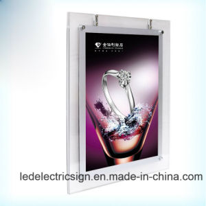 Wall Mounted LED Crystal Acrylic Box pictures & photos