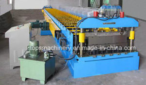 High Quality Galvanized Steel Sheet Floor Deck Roll Forming Machine pictures & photos