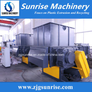 Plastic Recycling Machine Single Shaft Shredder Machine pictures & photos
