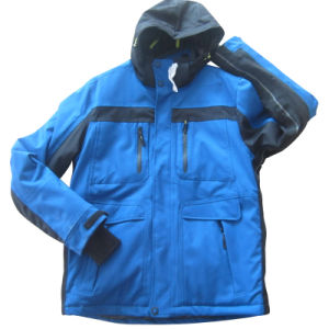 Men′s Water and Wind Proof Sport Outwear (HS16012)