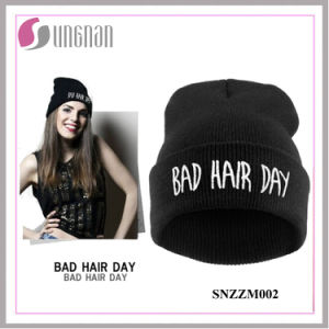 2015 Fashion Beanie Hat Hiphop Acrylic Knitted Cap (SNZZM002) pictures & photos