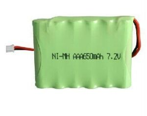 7.2V AAA 650mAh NiMH Flashlight Rechargeable Battery Pack pictures & photos