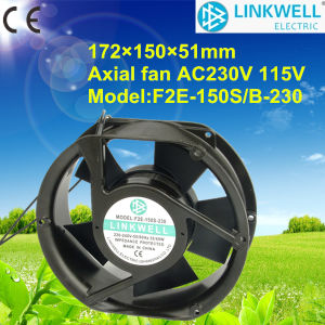 Hot Selling Exhaust Cooling Ventilating Axial Fan (F2E-150S/B) pictures & photos