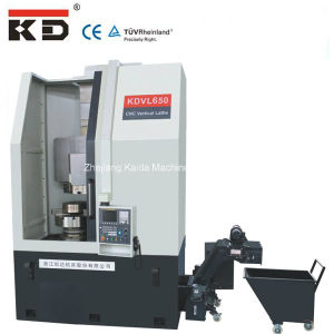 China Good Price and High Precision Vertical CNC Lathe (KDVL-650) pictures & photos