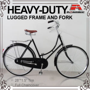 28 Inch Roadster Heavy-Duty Traditional Bicycle for Gent (AYS-2803S-SL) pictures & photos