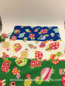 100%Cotton Flannel Printed pictures & photos