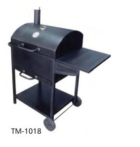 BBQ Charcoal Grill with Wheels (TM-1018) pictures & photos