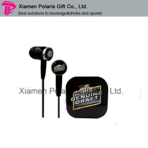 Promotional Cmky Logo Printing in-Ear Earbuds MP3 Earphone pictures & photos